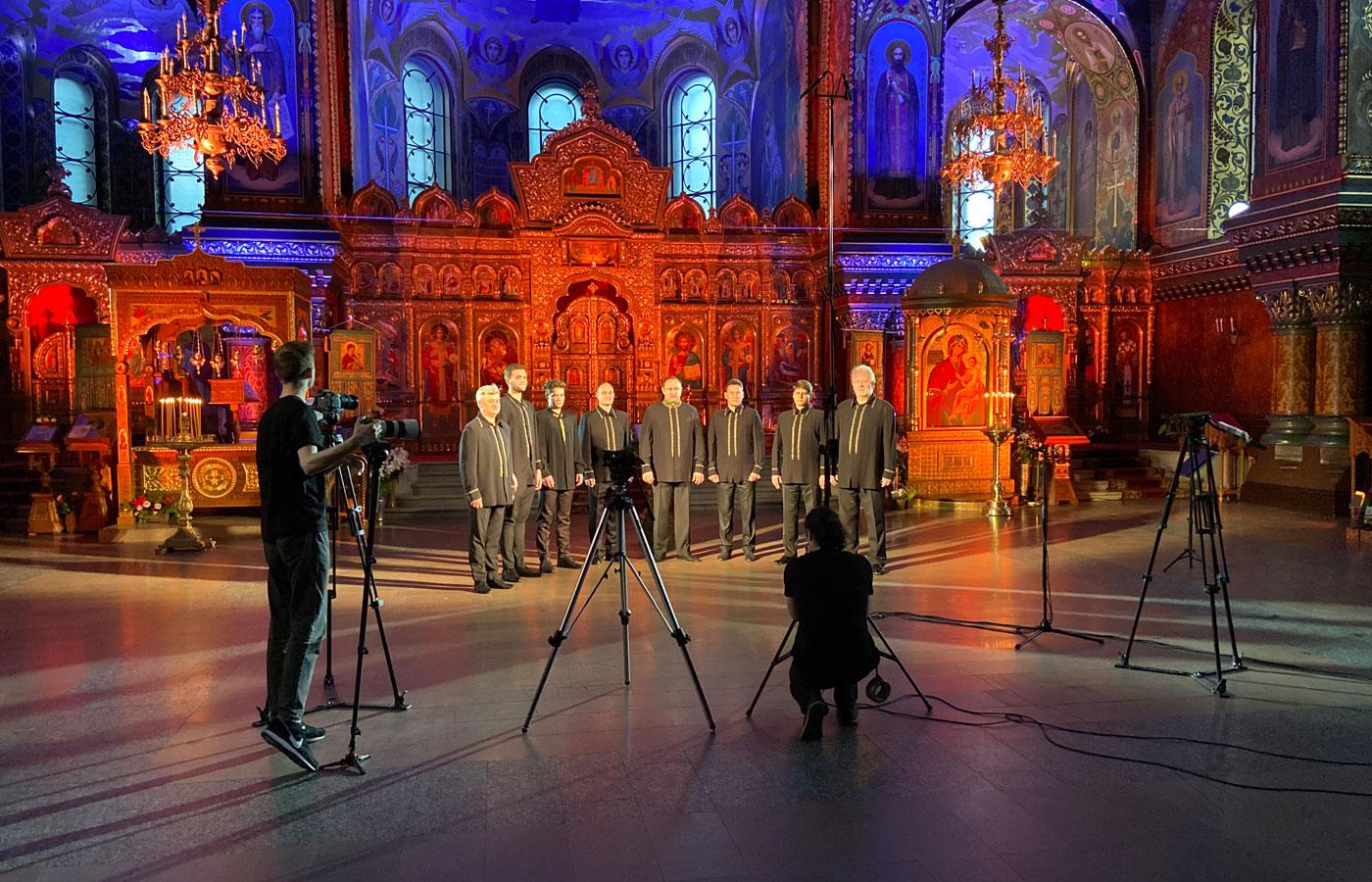 Optina Pustyn male choir.
